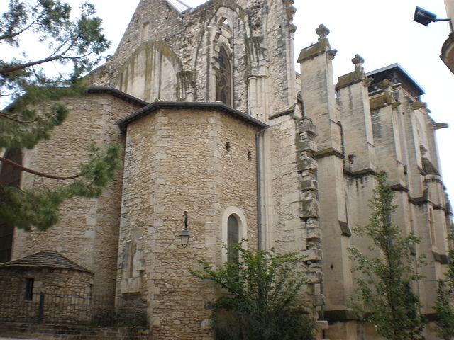 La iglesia de Saint Roch de Montpellier