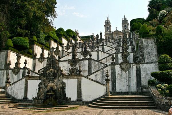 La Iglesia de Bom Jesus do Monte, en Braga