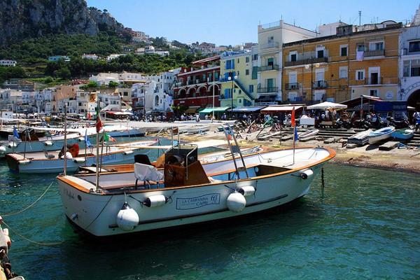 Las playas más conocidas de la isla de Capri