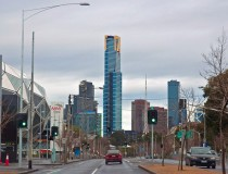 La Torre Eureka, el edificio más alto de Melbourne