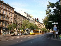 Avenida Andrássy en Budapest