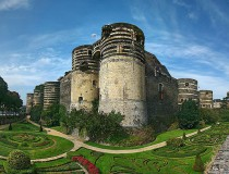 Castillo de Angers en Francia