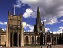 Catedral de Sheffield en Inglaterra
