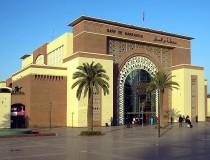 Nueva estación de trenes de Marrakech