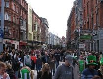 Grafton Street, calle de compras en Dublín