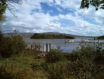 Lago Allen en Irlanda