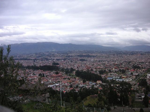 Mirador de Turi en Cuenca