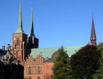 Catedral de Roskilde en Dinamarca