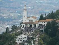 Santuario del Señor de Monserrate en Bogotá