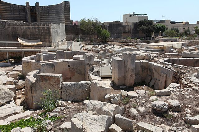 Templos de Tarxien en Malta