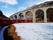 Bernina Express, una experiencia única por los Alpes