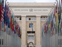 El Palacio de las Naciones Unidas, en Ginebra