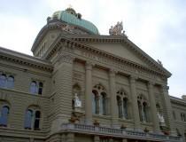 El Palacio Federal de Berna, la sede del gobierno suizo