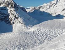 El glaciar Aletsch, el más grande los Alpes