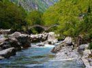 El valle verde de Verzasca, en Tesino
