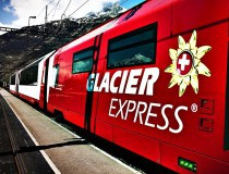 Glacier express, un trayecto para enamorarse