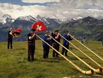 La música tradicional de Suiza