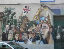 Orgosolo y su peculiar arte callejero