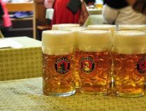 Las cervezas de la Oktoberfest de Munich