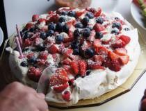 La tarta Pavlova, dulce típico australiano