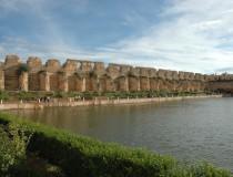 Estanque de Agdal en Mequinez