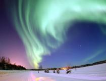 Auroras boreales en Alaska, un espectáculo natural inolvidable