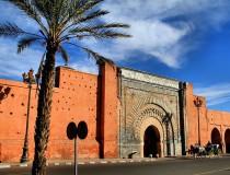 Puerta de Bab Agnaou en Marrakech