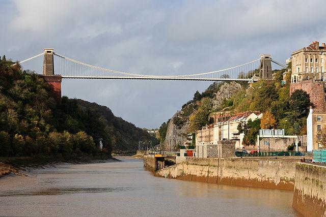 Puente colgante Clifton en Bristol