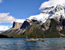 Lago Minnewanka en Banff