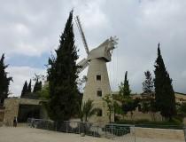 Molino de Montefiore en Jerusalén