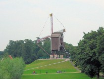 Molino Sint-Janshuis  en Brujas