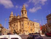 Iglesia de la Virgen de la  Victoria en Naxxar