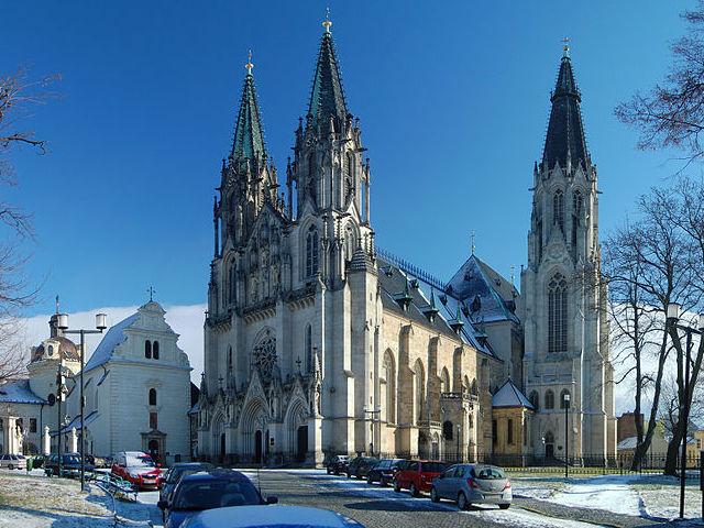 Catedral de San Venceslao en Olomouc