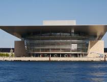 Ópera de Copenhague en Dinamarca