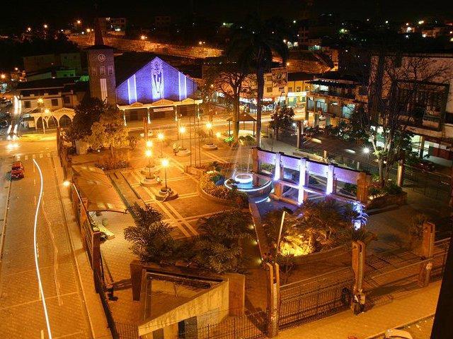 Parque Central en Quevedo
