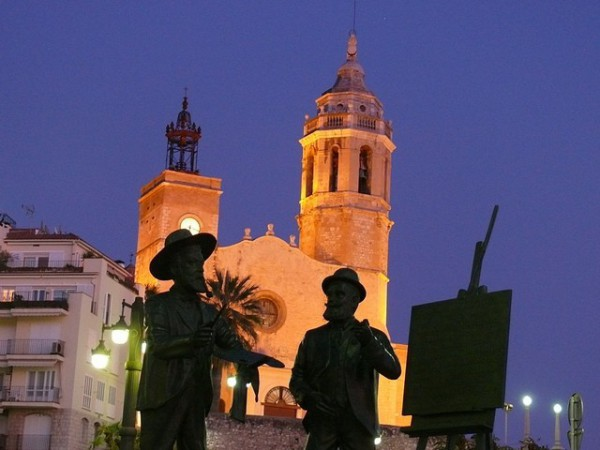 Sitges, una villa marinera con una gran vida cultural