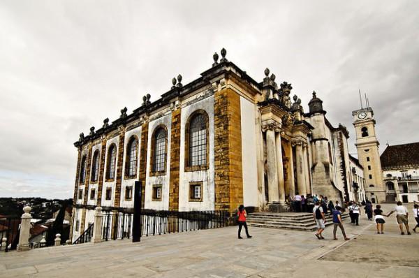 La Biblitoeca Joanina, en la Universidad de Coimbra