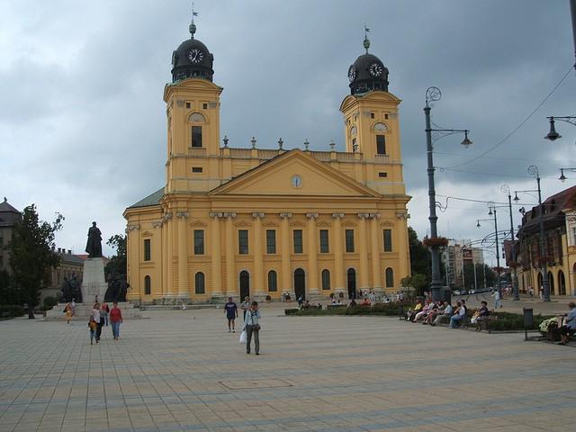 Centro de Arte Moderno y Contemporáneo en Debrecen