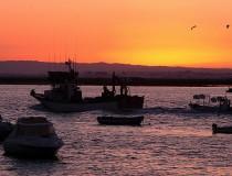 La ruta de las puestas de sol en Isla Cristina