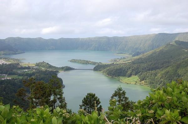 El Lago de las Siete Ciudades es uno de los monumentos naturales de las Azores