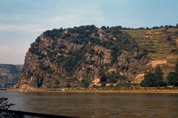 El macizo rocoso del Lorelei, lugar de leyendas por antonomasia
