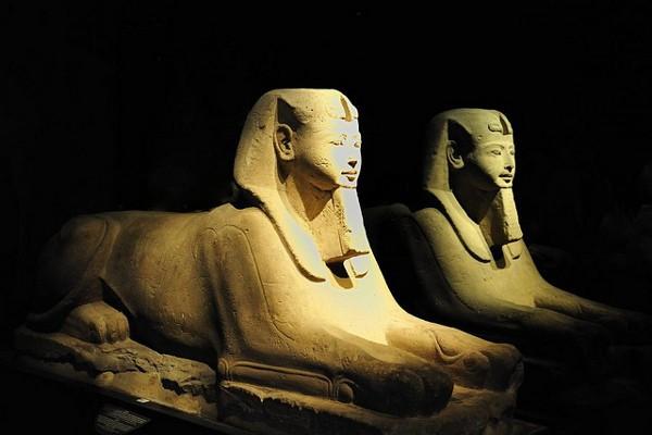 Esfinges en el Museo Egipcio de Turín