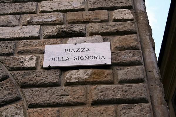 La Plaza de la Señoría es la más animada y bonita de Florencia