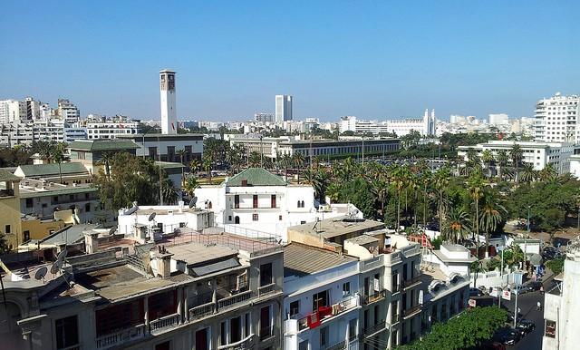 Mezquita Ould-el-Hamra en Casablanca
