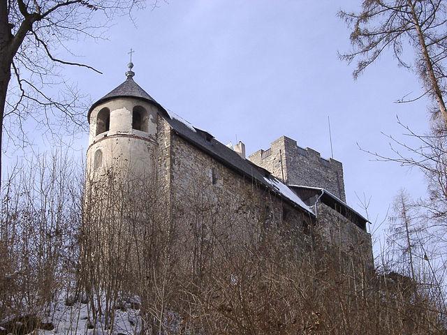 Burgruine Gösting, castillo en Graz