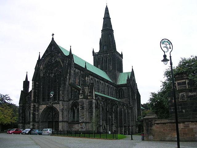 Catedral de Glasgow en Escocia