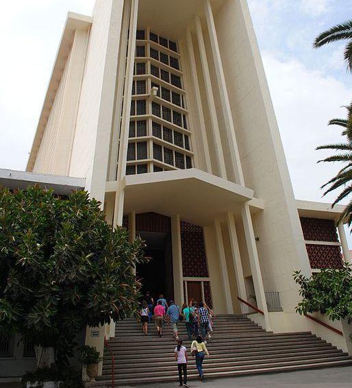 Catedral de Nuestra Señora de Lourdes en Casablanca