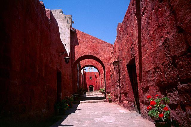 Monasterio de Santa Catalina de Siena en Arequipa