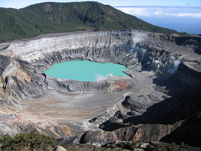 Parque Nacional Volcán Poás en Alajuela