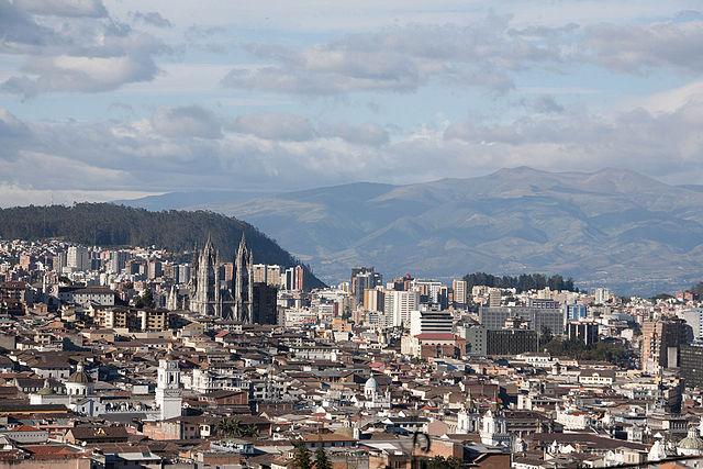 Parque Las Cuadras en Quito